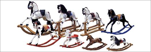 About us and our family of rocking horses